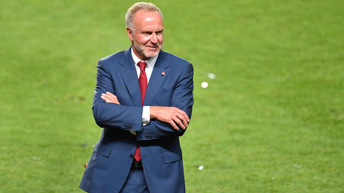 Karl-Heinz Rummenigge fungiert noch bis Ende 2021 als Vorstandchef des FC Bayern