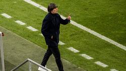 Bundestrainer Joachim Löw will mit der Nationalelf mindestens ins EM-Halbfinale