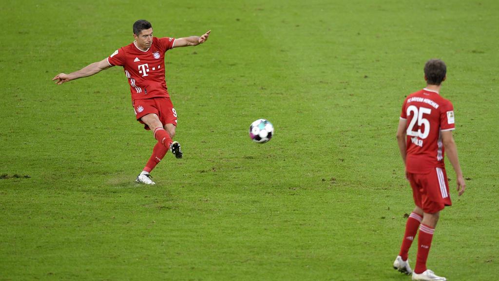 Robert Lewandowski ist seit Jahren die Tor-Versicherung des FC Bayern