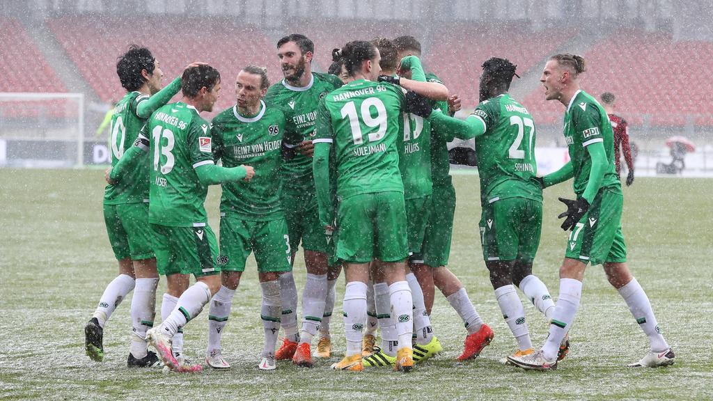 Hannover 96 feierte gegen den 1. FC Nürnberg einen klaren Heimsieg