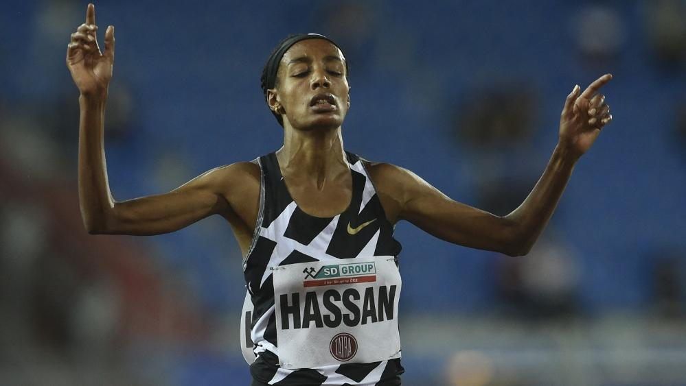 Sifan Hassan knackt den Weltrekord über 10.000 Meter