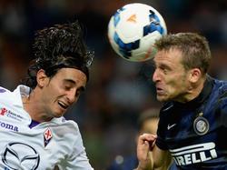 Hugo Campagnaro (r.) glaubt an die Stärke von Inter