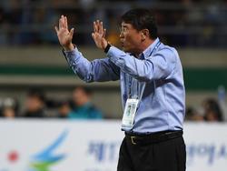 Nordkoreas Coach Yun Jong-Su