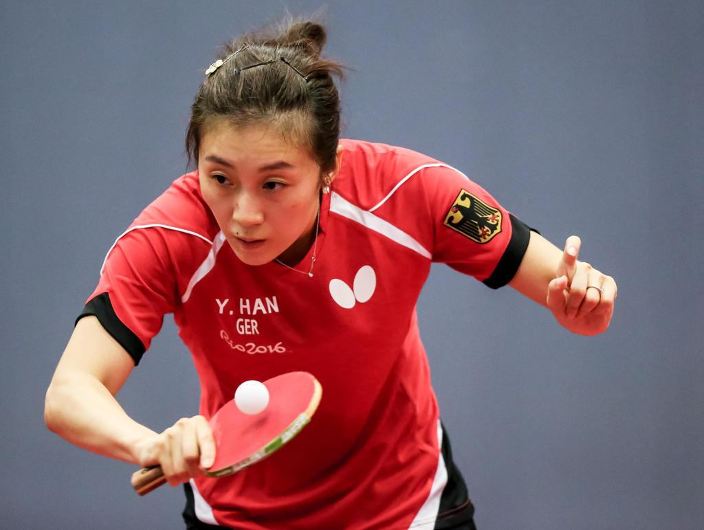 Han Ying hatte keine Probleme bei ihrem Start in die Olympischen Spiele von Rio