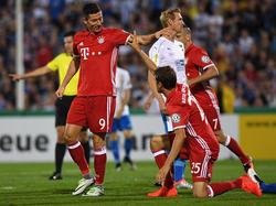 Lewandowski und Co. waren in Jena nicht zu stoppen