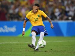 El lanzamiento de penalti de Neymar llevó la locura a todo su país. (Foto: Getty)
