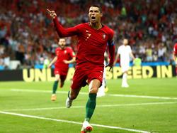 Cristiano Ronaldo war der Hauptdarsteller beim Remis zwischen Portugal und Spanien.