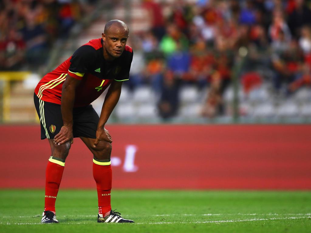 Vincent Kompany droht der Rauswurf aus Belgiens WM-Kader