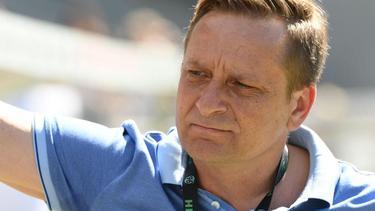Zuversichtlich: 96-Sportdirektor Horst Heldt