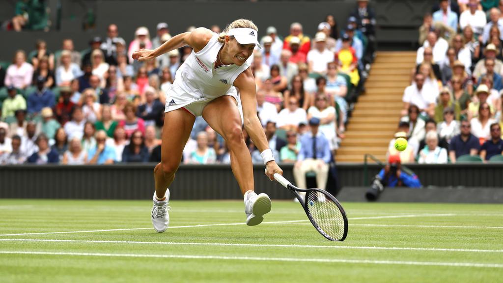 Angelique Kerber steht im Halbfinale vom Wimbledon