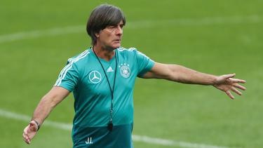 Bundestrainer Joachim Löw besucht einen Trainerkongress der FIFA