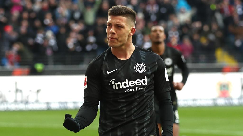 Luka Jovic soll über den Sommer hinaus in Frankfurt bleiben