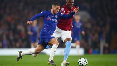 Eden Hazard traf gegen West Ham United doppelt
