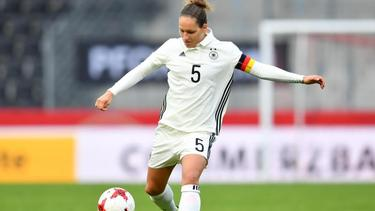 Babett Peter beendet ihre Nationalmannschaftskarriere