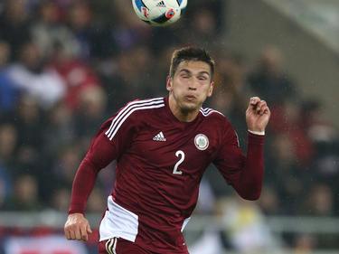 Zum Wegschauen: Vitālijs Maksimenko vom SV Mattersburg kassierte mit Lettland im vierten WM-Qualifikationsspiel die dritte Niederlage