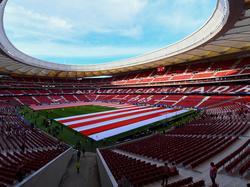In den Atlético-Fanshop direkt am Stadion wurde eingebrochen