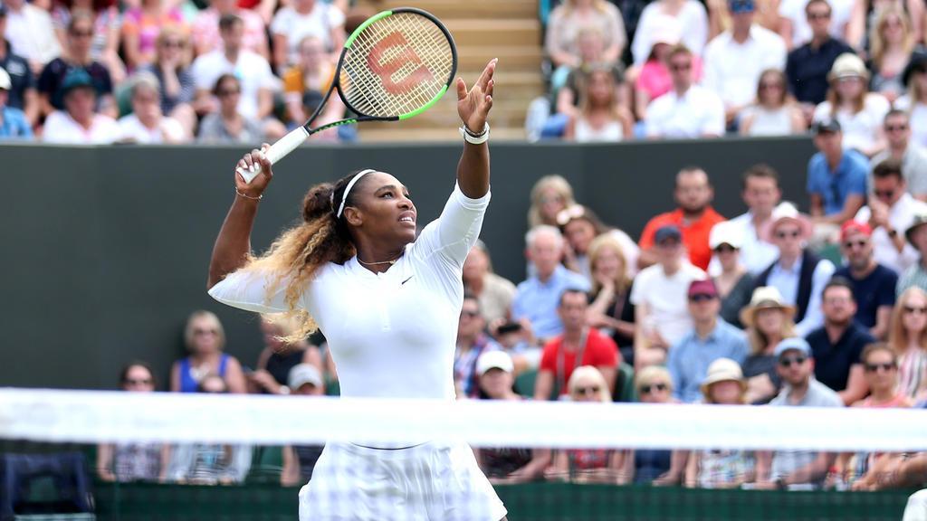 Serena Williams siegte nach nicht einmal einer Stunde