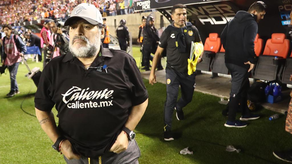 Diego Maradona kehrt auf die Trainerbank zurück