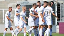 Die SpVgg Unterhaching ist neuer Tabellenführer der 3. Liga