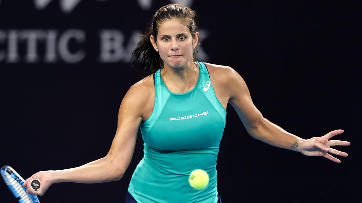 Beim WTA-Turnier in Luxemburg sexistisch beleidigt: Julia Görges