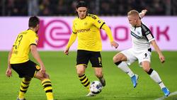 In Dortmund noch auf der Suche nach der Bestform:Nico Schulz