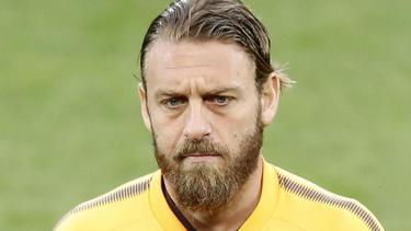 Sieht mit langem Haar und Schminke älter aus: Daniele De Rossi