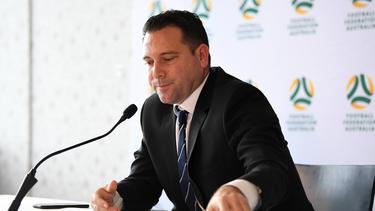 Football Federation Australia (FFA) Chief Executive Officer James Johnson