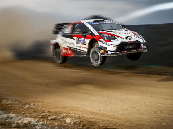 Erster Toyota-Sieg für Sebastien Ogier bei vorzeitigem Ende der Rallye Mexiko