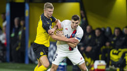 Bald vereint beim BVB: Erling Haaland (l.) und Thomas Meunier
