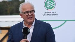 DFB-Boss Fritz Keller wird die Lose ziehen