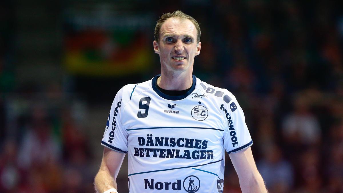 Holger Glandorf spielte bei der SG Flensburg-Handewitt