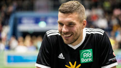 Lukas Podolski ist seiner Karriere zufrieden