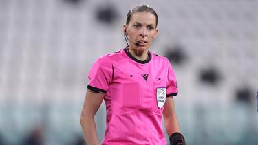 Stéphanie Frappart pfiff als erste Frau ein Champions-League-Spiel
