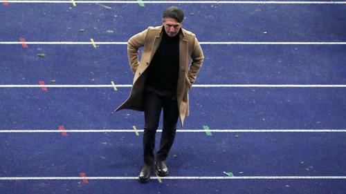 Von seiner Mannschaft enttäuscht: Hertha-Coach Bruno Labbadia