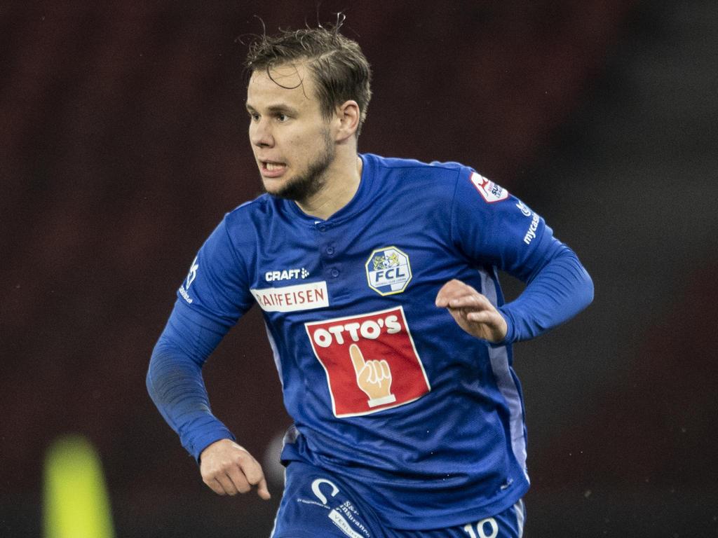 Fünftes Saisontor von Louis Schaub für den FC Luzern
