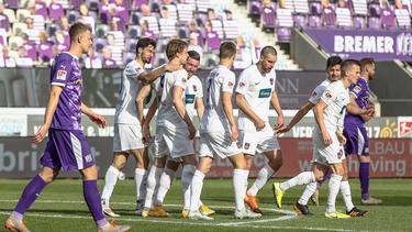 Der 1. FC Heidenheim feierte einen Sieg beim VfL Osnabrück