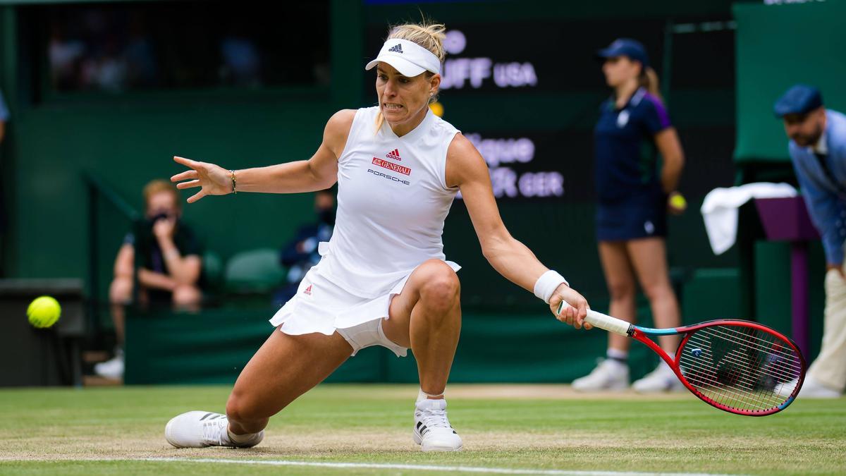 Angelique Kerber zeigte eine starke Leistung im Viertelfinale
