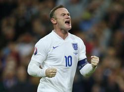 Wayne Rooney es el capitán inglés. (Foto: Getty)