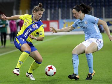 Pinther spielte sich unter anderem gegen Manchester City in die Auslage