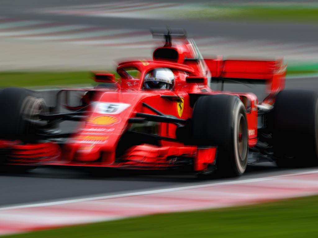 Sebastian Vettel fuhr die schnellste Zeit der bisherigen Formel-1-Tests