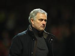 José Mourinho ist enttäuscht