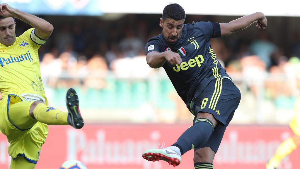 Sami Khedira hat seinen Vertrag in Turin vorzeitig verlängert