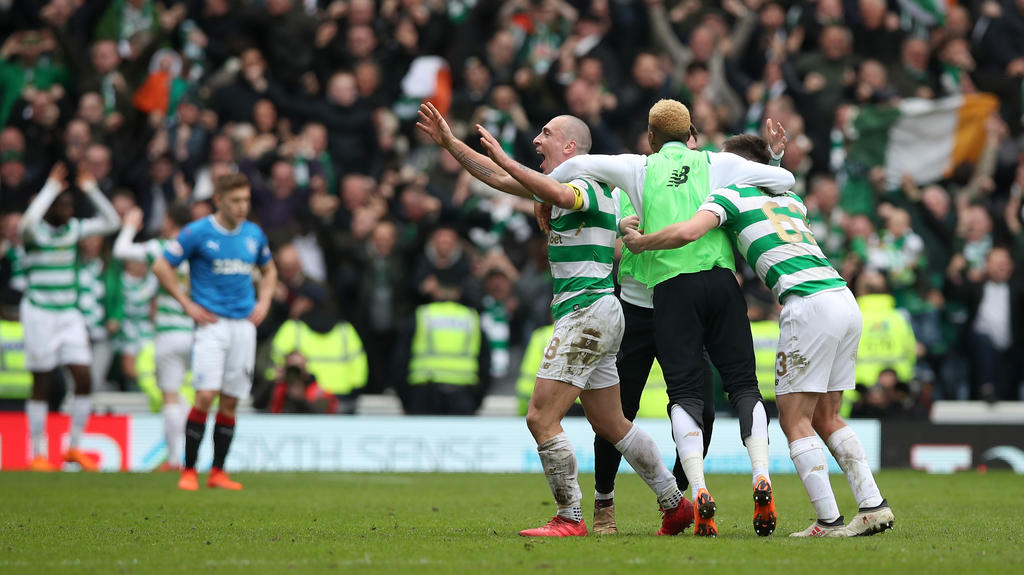 Celtic setzte sich im Old Firm gegen die Rangers durch
