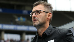 Ist mit dem Einsatz des Videobeweises nicht zufrieden: Nürnbergs Trainer Michael Köllner