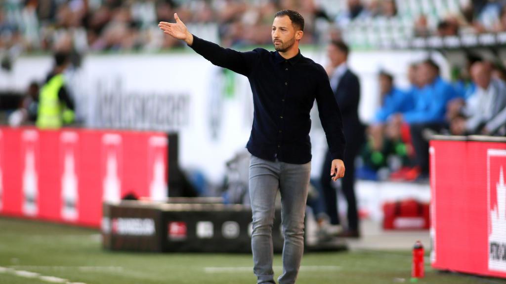 Domenico Tedesco und der FC Schalke sind mit zwei Niederlagen in die Saison gestartet