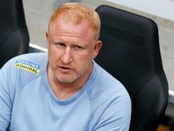 Sturm-Trainer Heiko Vogel ist ob des frühen Schlagers im Cup nur mäßig begeistert