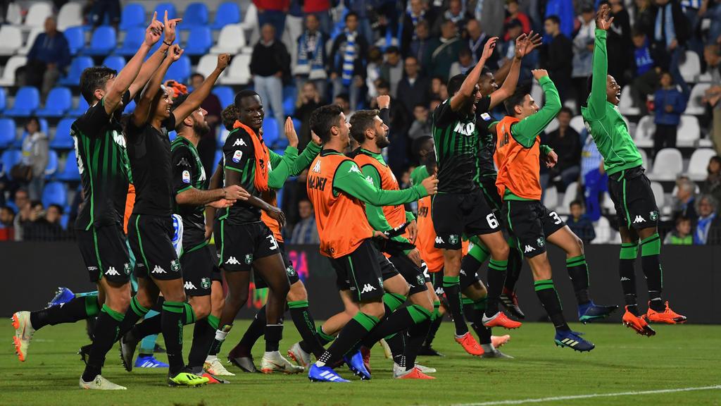 Sassuolo rockt die Serie A