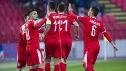 Prestigeerfolg für Serbien