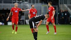 Der SV Sandhausen steckt weiter im Tabellenkeller