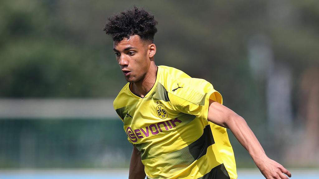 Yassin Ibrahim erzielte den Siegtreffer für den BVB